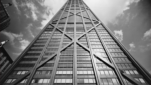 John Hancock Tower  Chicago  USA